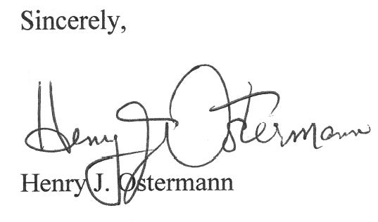 Henry J. Ostermann